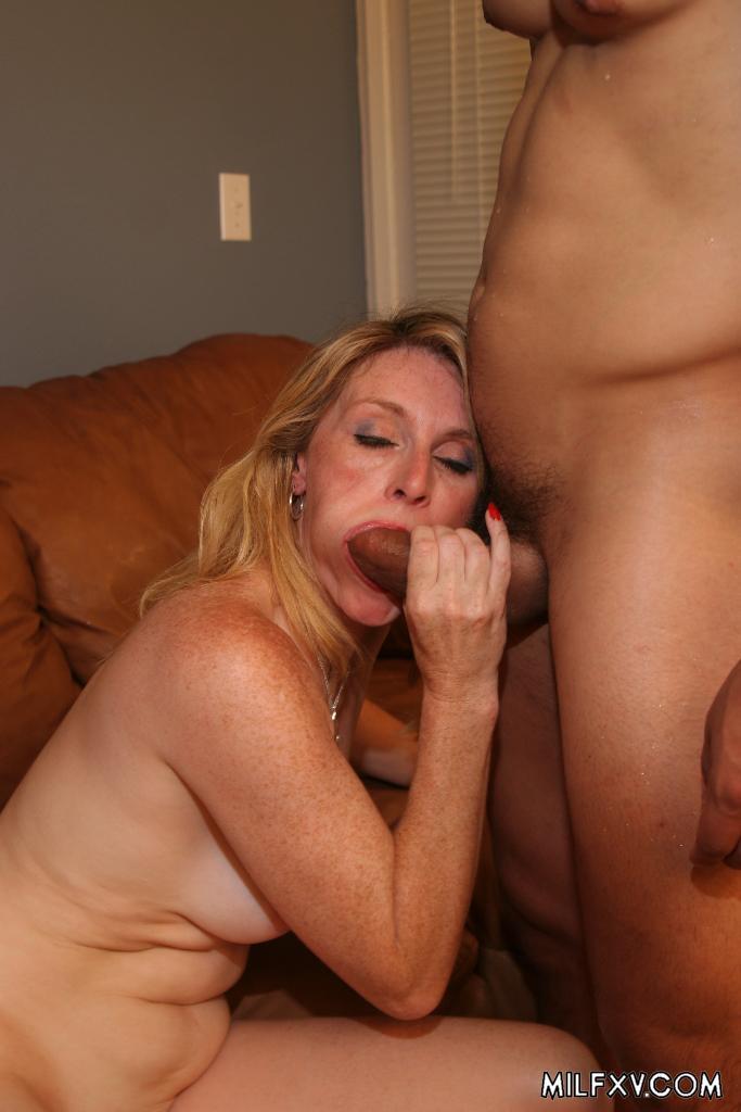 Busty mature teacher seduce her nerd student 4